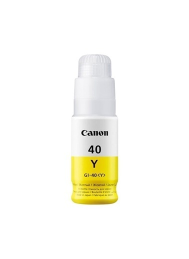 Canon Canon Gı-40Y Mürekkep Kartuş Orj. Renkli